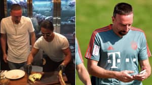 """Franck Ribery Given 'Heavy Fine' After Telling Critics To """"F*** Your Mothers And Grandmothers"""" Over £1,000 Steak"""