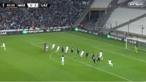 Dimitri Payet Scores A Signature Stunning Free-Kick For Marseille