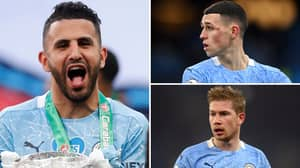 Riyad Mahrez Hailed As 'World's Best Player On Current Form' Ahead Of Phil Foden And Kevin De Bruyne