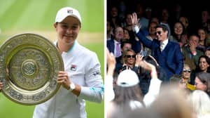 Tom Cruise Accused Of Trying To 'Upstage' Ash Barty During Wimbledon Final