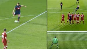 Xabi Alonso Rolls Back The Years With A Stunning Free-Kick Against Liverpool