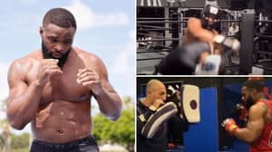 Fans Believe Jake Paul Will Lose After Footage Of Tyron Woodley In Training Goes Viral