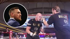 Conor McGregor Reacts To Tyson Fury's 'Matrix-Like' Movement And Speed During Workout