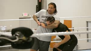 Tim Wiese Looks Impressive In The Ring As He Prepares For WWE Debut