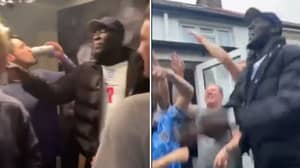 Stormzy Turned Up To Random After Party Following England's 2-0 Win Over Germany
