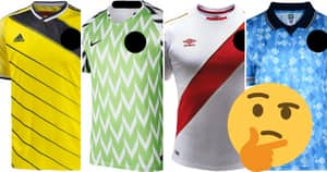 QUIZ: Can You Name The World Cup Team By Their Classic Kit?