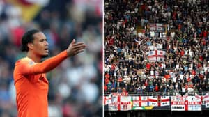 """England Fans Branded """"Embarrassing"""" For Booing Liverpool's Virgil van Dijk During UEFA Nations League Match"""