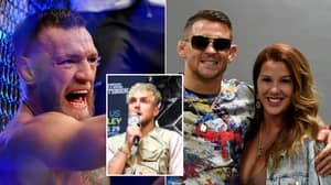 Jake Paul Ruthlessly Rips 'Evil' Conor McGregor For Furious Outburst At Dustin Poirier's Wife
