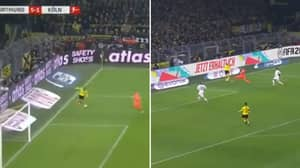 Erling Haaland Scores From 'Impossible' Angle To Continue Incredible BVB Form