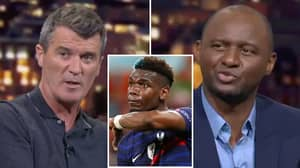 Roy Keane And Patrick Vieira Agree On Damning Paul Pogba Assessment After France's Shock Euro 2020 Exit