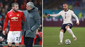 Major Shock As Jose Mourinho Actually Praises Luke Shaw After Left-Back's Display In England's 4-0 Win Over Ukraine