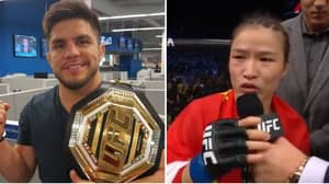 Zhang Weili Says She'd Fight Henry Cejudo If He Has A Sex Change