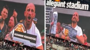 Alexander Volkanovski Attends NFL Game After UFC 266 Victory, Gets The Biggest Cheer Of The Day