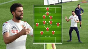 Thiago Motta Ready To Play 2-7-2 Formation After Being Named Genoa Manager