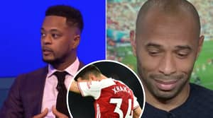 Thierry Henry 'Couldn't Watch Granit Xhaka Captain Arsenal' According To Patrice Evra