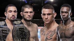 Whittaker Wants To Fight Adesanya On The Same Mega UFC Card As Khabib Vs. Poirier