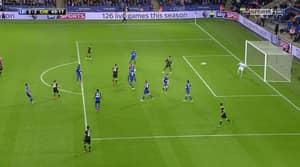 WATCH: Azpilicueta Smashes Home A Screamer Against Leicester