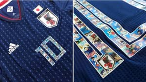Japan's World Cup Home Kit Is An Actual Piece Of Art