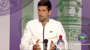 Novak Djokovic's 'Classy' Response To 'Appalling' Press Conference Question