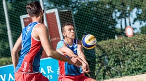 Ivan Perisic Spends His Holiday Making Beach Volleyball Debut For Croatia