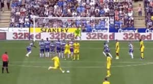 Ross Barkley Scores A Sensational 25-Yard Free-kick To Equalise For Chelsea