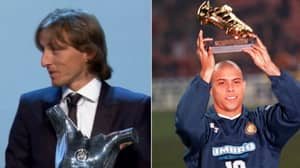Luka Modric Becomes First Player To Win Golden Ball And UEFA Men's POTY Since Ronaldo In '98