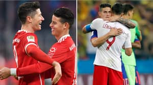 Robert Lewandowski's Pre World Cup Tweet To James Rodriguez Looks A Tad Awkward