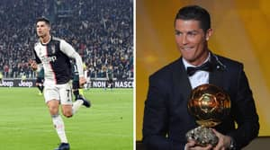 Cristiano Ronaldo's Odds Of Winning Ballon d'Or This Year Have Been Slashed