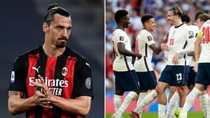 """""""Put Your F**king Hands Down!"""" - Zlatan Confronted England Defender In Ugly Dressing Room Scenes"""