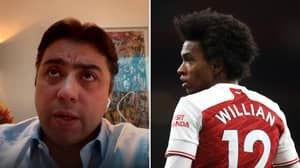 Willian's Agent Gives Damning Analysis Of Arsenal After Transfer, They're A Complete Mess