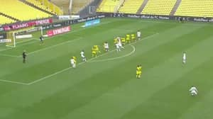 Lorient Forward Armand Laurienté Scores One Of The Greatest Free-Kicks Of All Time, It's Juninho-esque