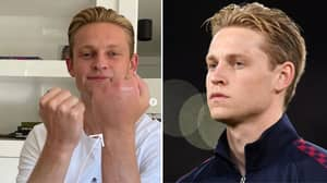 Why Frenkie De Jong Was Wearing A Bandage In The Champions League