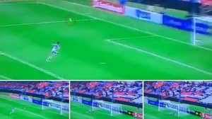 Watch: One Of The Best Saves You Will Ever See Happened Last Night
