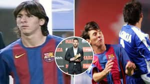 Defender Who Marked Lionel Messi On Debut Says 'He Wasn't Anything Special'
