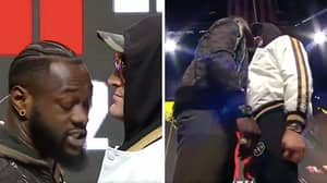 You Can Hear Every Word Of Tyson Fury And Deontay Wilder's Face-Off In New Footage