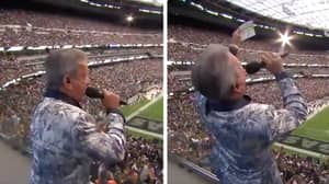 UFC Legend Bruce Buffer Gives Spine-Tingling Announcement At Las Vegas Raiders Game