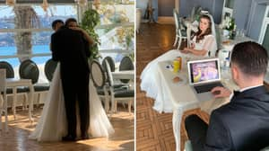 Remembering The Time When A Groom Played Football Manger On His Wedding Day