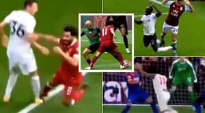 Manchester United Fan Puts Together Video Compilation Of Mohamed Salah And Sadio Mane Theatrics For Liverpool