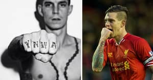 Daniel Agger Has The Liver Bird Tattooed Onto His Fingers