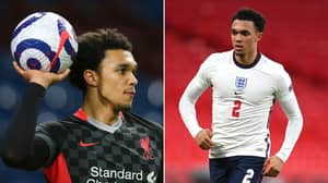 Trent Alexander-Arnold Reacts To Being Named In England's Euro 2020 Squad