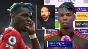 Rio Ferdinand Angered At Paul Pogba's 'We Deserved To Lose' Claim After Leicester City Defeat