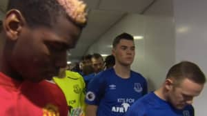 Plenty Noticed Wayne Rooney's Reaction To Paul Pogba In The Tunnel