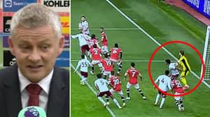 Ole Gunnar Solskjaer Thinks Aston Villa's Winner Should've Been Ruled Out For Offside