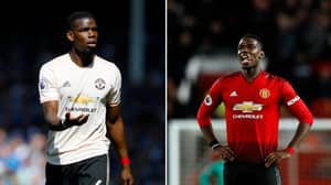 Manchester United's Paul Pogba Included In PFA Team Of The Year
