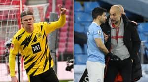 Manchester City Identify Surprise Erling Haaland Alternative As Sergio Aguero Replacement