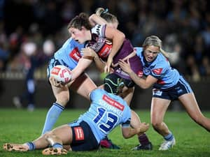 The Teams Are Out For Women's State Of Origin