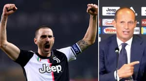 Juventus Boss Max Allegri Reveals Brutal Reason For Why Leonardo Bonucci Will Never Be Captain