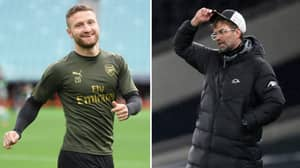 Liverpool And Arsenal Fans React After Hearing Shkodran Mustafi Could Move To Anfield This Window