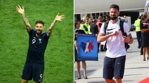 Olivier Giroud Confirms He Will Keep To Promise Of Shaving His Head