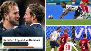 Someone Has Already Created A Petition Calling For A Rematch Between England vs Denmark's Euro 2020 Semi-Final Clash